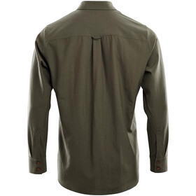 Aclima Woven Wool Shirt Men, ranger green